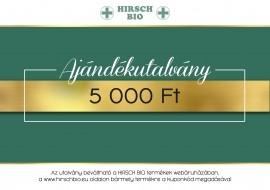 HIRSCH BIO Ajándékutalvány 5000 Ft