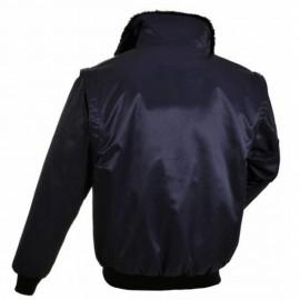 Dzseki, fekete pilóta kabát,Portwest, PJ10