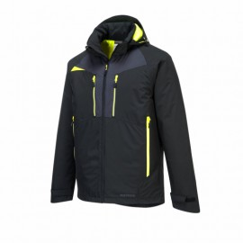 Dzseki, fekete téli kabát, Portwest , DX460 DX4