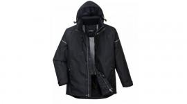 Dzseki, fekete téli kabát, Portwest PW362