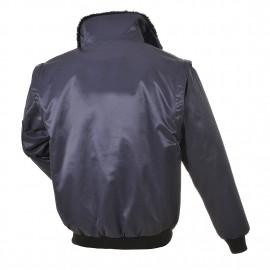 Dzseki, kék pilóta kabát,Portwest, PJ10